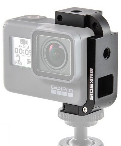Back-Bone SIDEARM HERO5 BLACK TRIPOD MOUNT