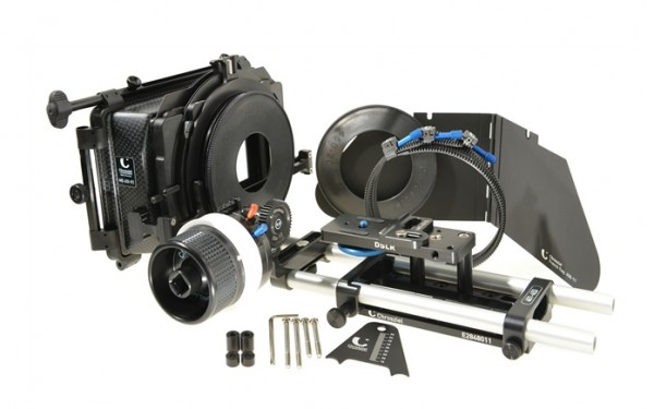 chrosziel dslr 2 kit matte box + follow focus