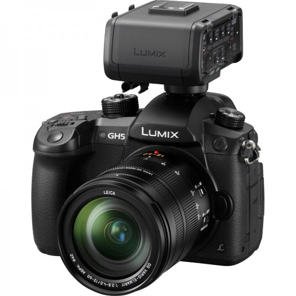 Panasonic DC-GH5 DMW-XLR1 Bundle