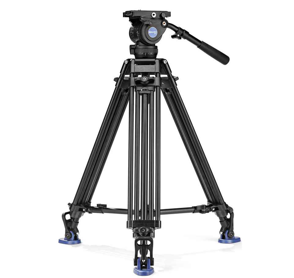 benro bv8 tandem leg aluminum tripod kit. Black Bedroom Furniture Sets. Home Design Ideas
