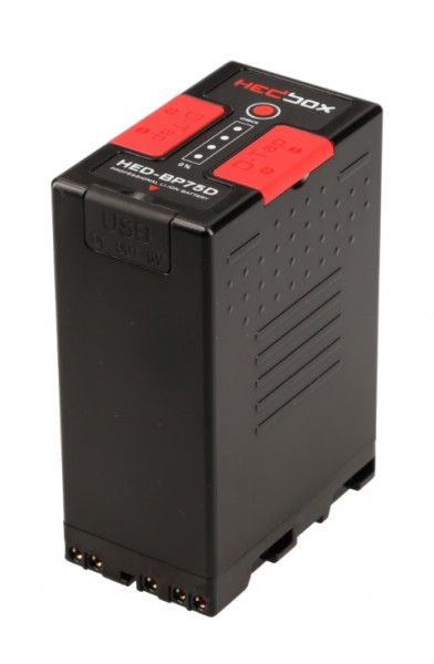 Hedbox HED-BP75D 75Wh lithium-ion Battery Pack