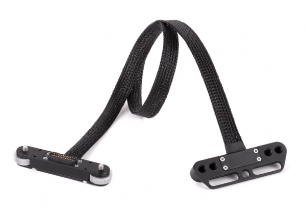 red male to female pogo cable