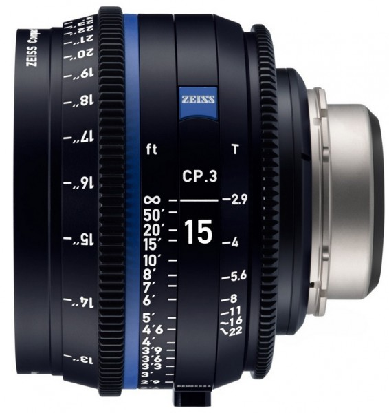 Zeiss Compact Prime CP.3 15mm/T2.9