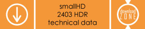 smallhd-2403-hdr-technical-data
