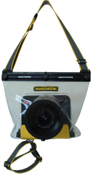 Blackmagic Cinema Camera underwater housing