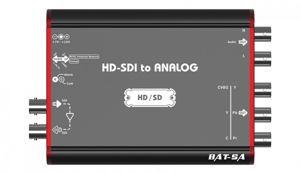 HD-SDI to Analog Mini Converter
