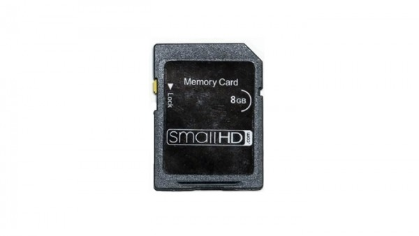 smallHD 8GB SD Card