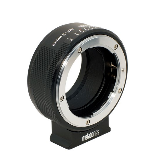 metabones nikon g e mount/nex black matt