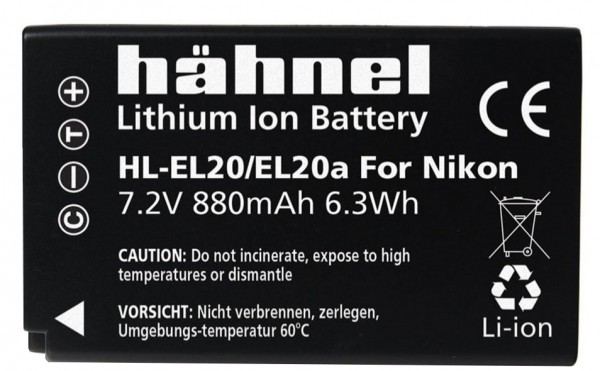 HAHNEL EL-20 Type Battery