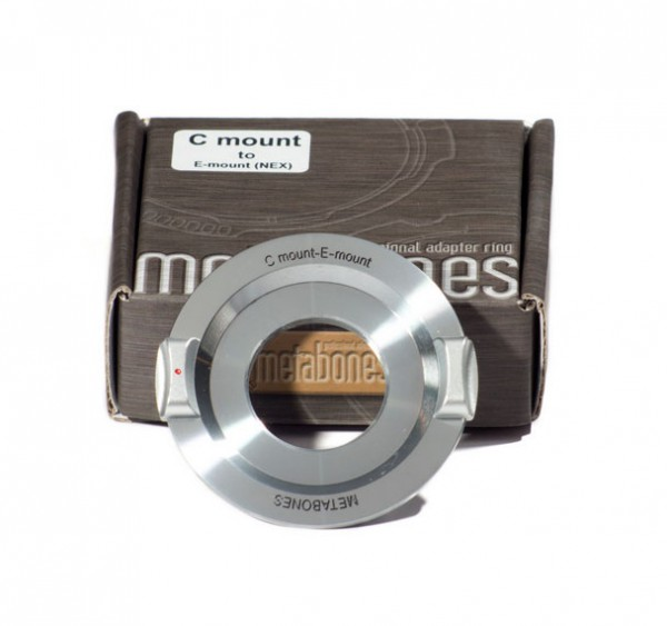 metabones c mount to sony nex adapter