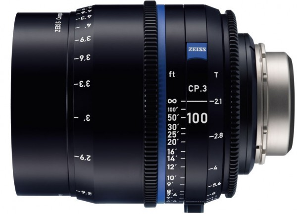Zeiss Compact Prime CP.3 100mm/T2.1