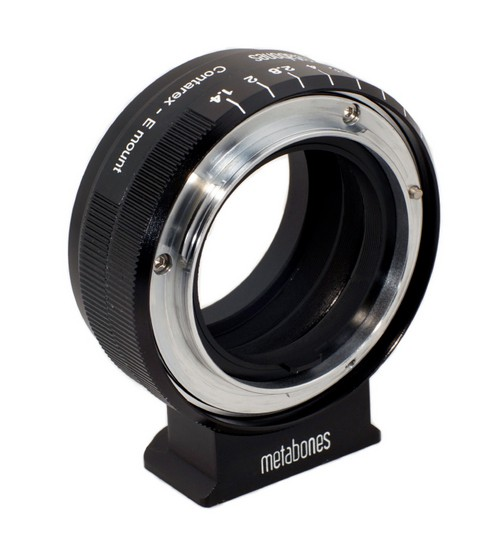 metabones contarex to sony nex adapter