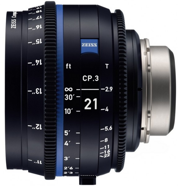 Zeiss Compact Prime CP.3 21mm/T2.9