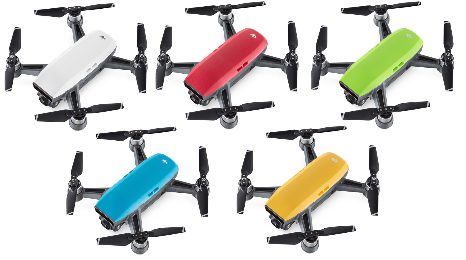 Und Die Dji Spark S8airsoftgames Sky Blue Quadcopter Alpine White Lava Red Meadow Green