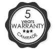 camrade-5-years-warranty