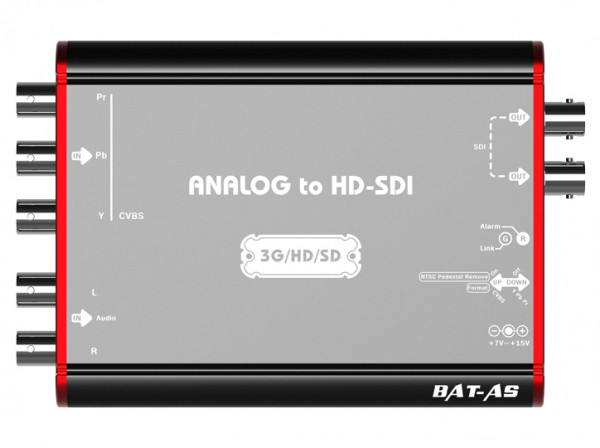 Analog to HD-SDI Mini Converter