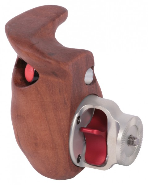 Vocas Wooden handgrip with switch