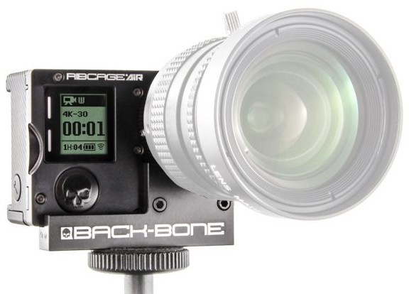 Back-Bone Ribcage AIR Modified Hero4 Black