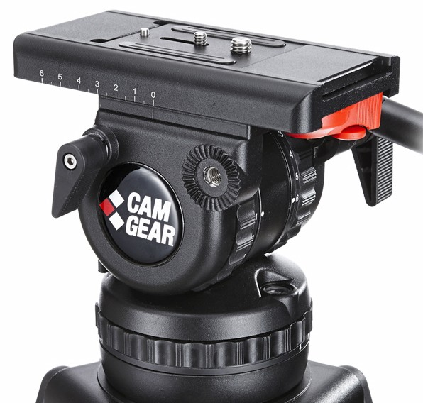 CamGear V10 100mm Fluid Head